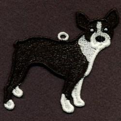 FSL Boston Terrier embroidery design