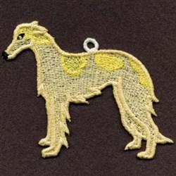 FSL Borzoi embroidery design
