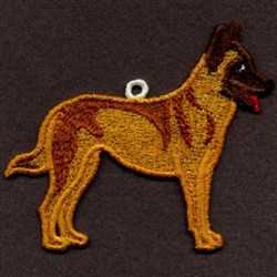 FSL Belgian Malinois embroidery design