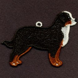 FSL Bernese Mountain Dog embroidery design