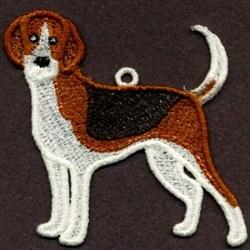 FSL American Foxhound embroidery design