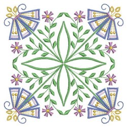 Vintage Jacobean Block embroidery design