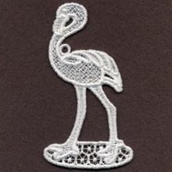 FSL Flamingo Standing embroidery design