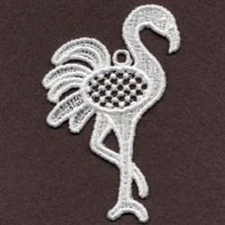 FSL Flamingo Posing embroidery design