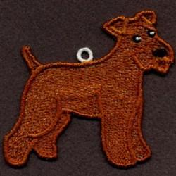 FSL Wheaten Terrier embroidery design