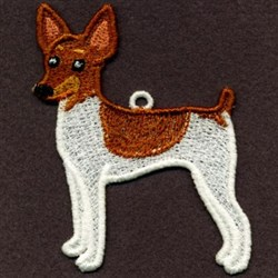 FSL Toy Fox Terrier embroidery design