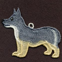 FSL Swedish Vallhund  embroidery design