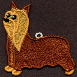 FSL Silky Terrier  embroidery design
