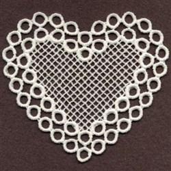FSL Sweet Circles Heart embroidery design