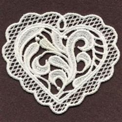 FSL Sweet Heart Ornament embroidery design