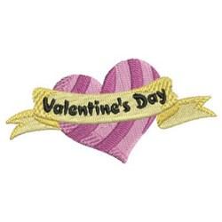 Valentine Day Heart embroidery design