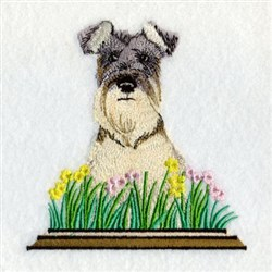 Welsh Terrier embroidery design
