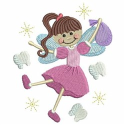 Tooth Fairy & Sack embroidery design