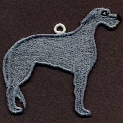 FSL Scottish Deerhound embroidery design