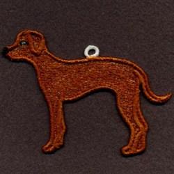 FSL Rhodesian Ridgeback embroidery design