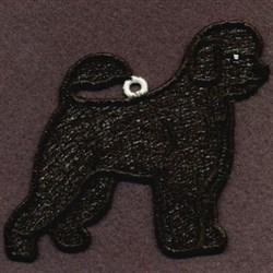 FSL Portuguese Water Dog embroidery design