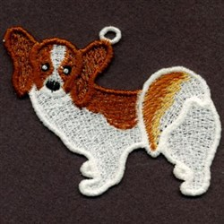 FSL Papillon embroidery design