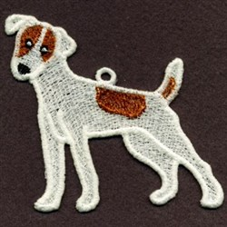 FSL Jack Russell Terrier embroidery design