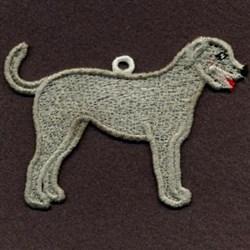 FSL Irish Wolfhound embroidery design