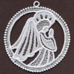 FSL Angel Circle embroidery design