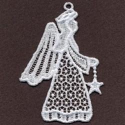 FSL Angel & Star embroidery design