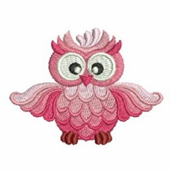 Little Owl embroidery design