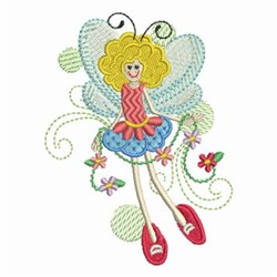 Fairy Girls embroidery design