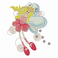 Star Fairy embroidery design