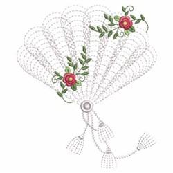 Ripple Fan embroidery design