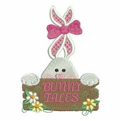 Bunny Tales embroidery design