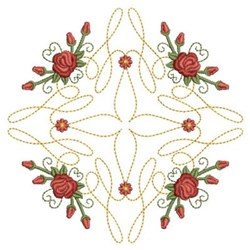 Red Roses Diamond embroidery design