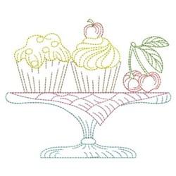 Vintage Desserts embroidery design
