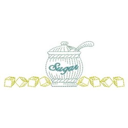 Sugar Cubes embroidery design