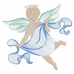 Angel Ripples embroidery design
