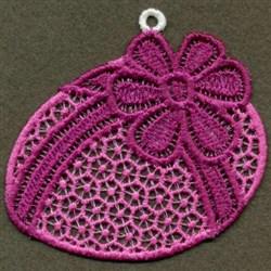 FSL Purple Egg embroidery design
