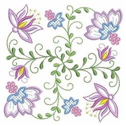 Vintage Jacobean Quilt   embroidery design