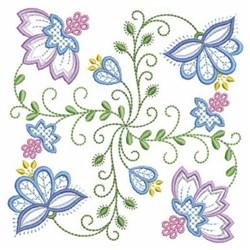 Jacobean Quilt   embroidery design