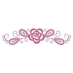 Pink Roses embroidery design