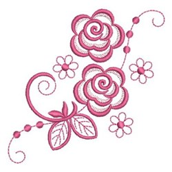 Simply Roses embroidery design