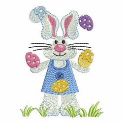 Easter Bunny RAbbit embroidery design