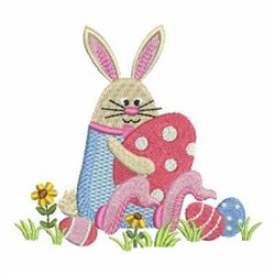 Easter Bunny Cuties  embroidery design