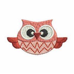 Cute Owl embroidery design