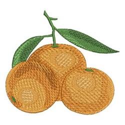 Delicious Oranges embroidery design