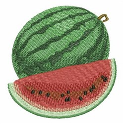 Delicious Watermelon embroidery design