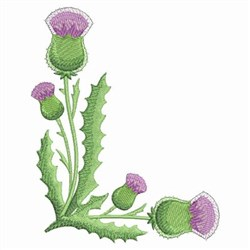 Thistle Decoration embroidery design