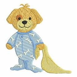 Baby Puppy embroidery design