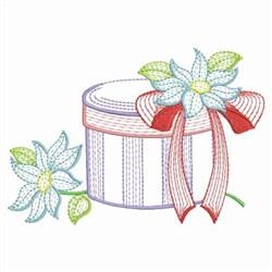Fashion Hat Box embroidery design