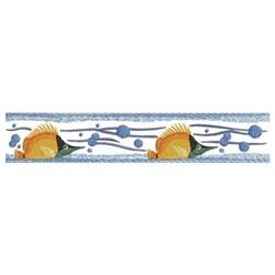 Fish Border embroidery design