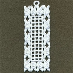 FSL Roses Bookmark embroidery design