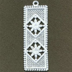 FSL Rose Diamond Bookmark embroidery design